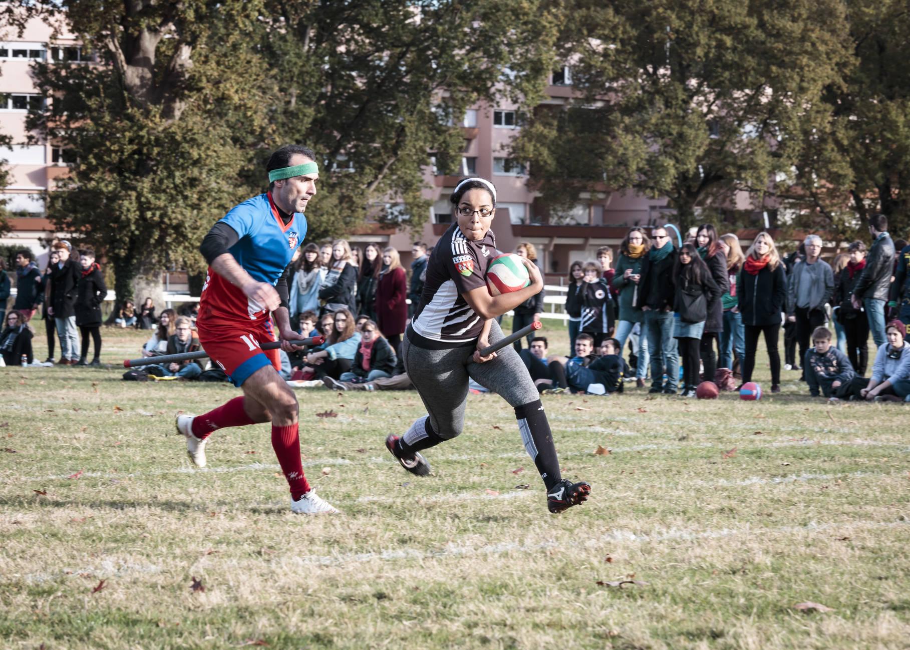 sport étudiants quidditch